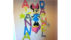 Minnie Mouse Mural